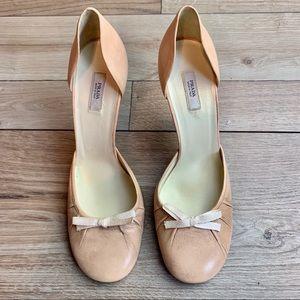 Prada | Peach with Bow Heels | Size 35,5